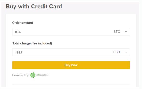 nakup na binance kreditni kartou